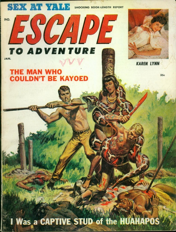 Escape to Adventure January 1961