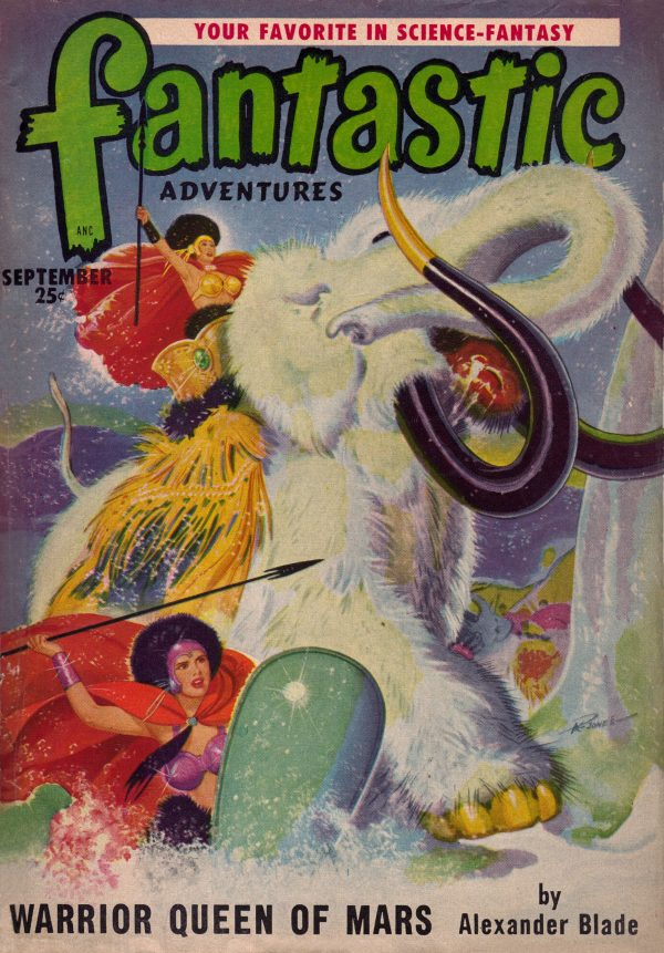 Fantastic Adventures September 1950
