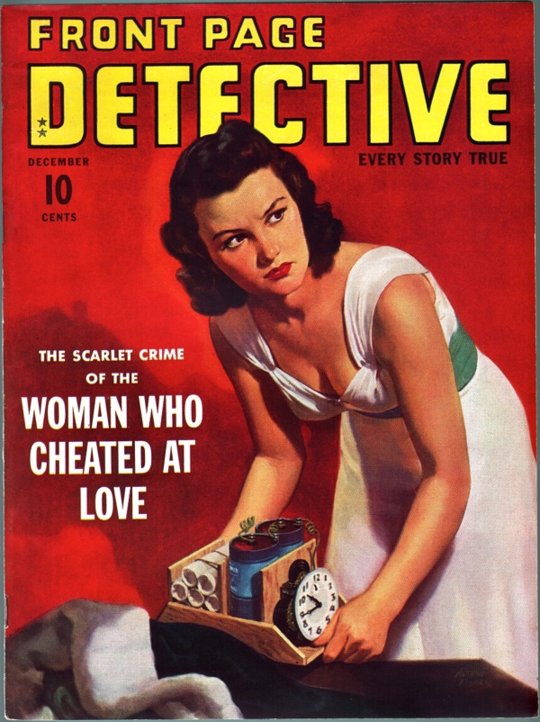 Front Page Detective - 1940-12