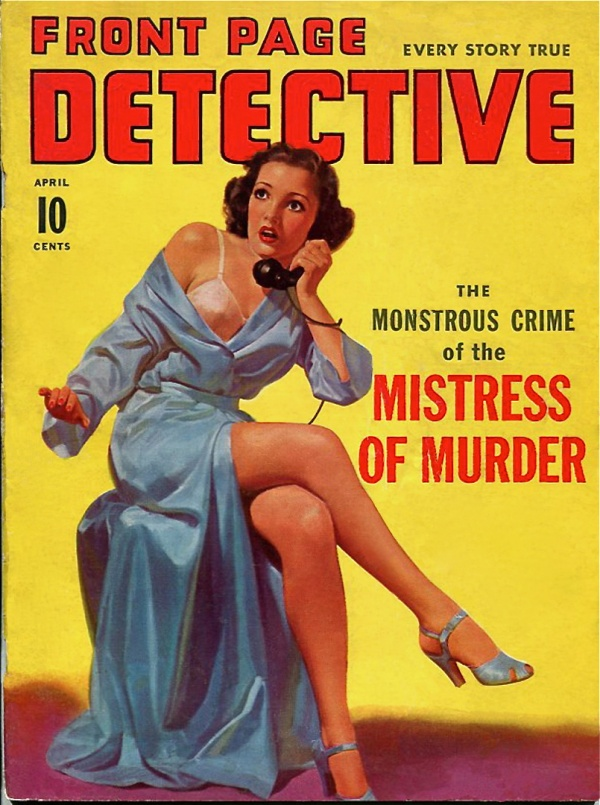 Front Page Detective - 1941-04