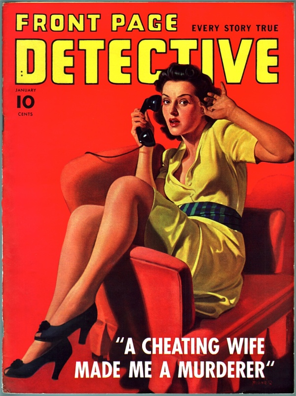 Front Page Detective - 1942-01