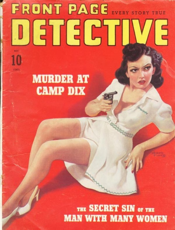Front Page Detective May 1941