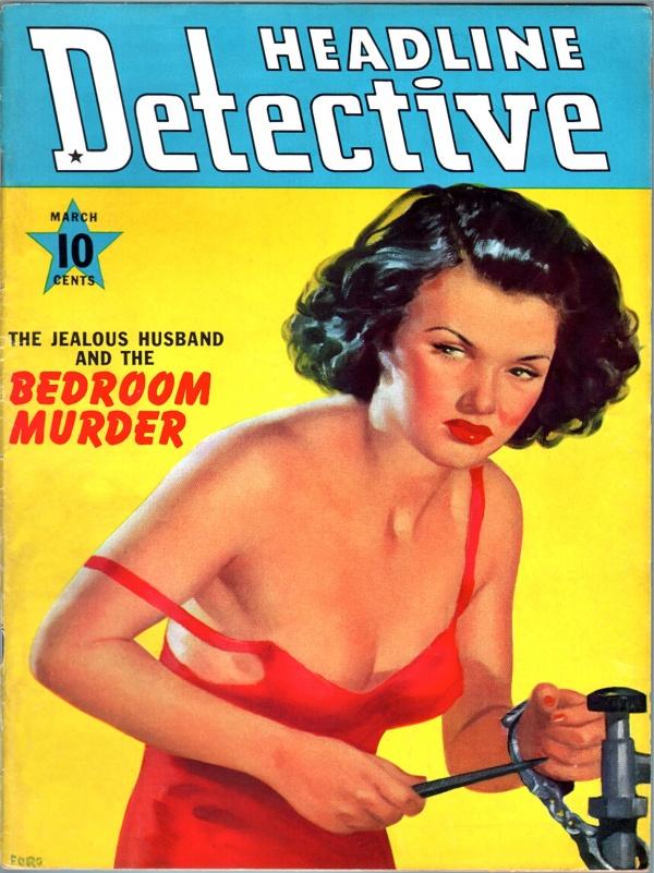 Headline Detective - 1940-03
