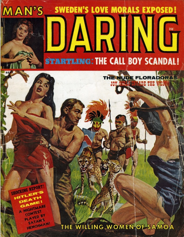 Man's Daring September 1961
