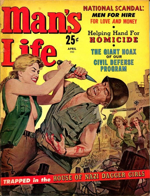 Man's Life April 1960