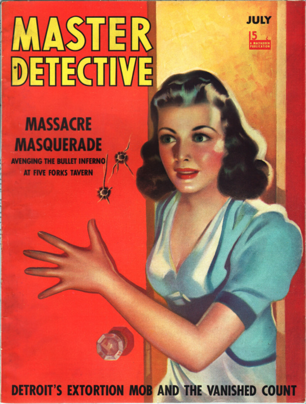 Master Detective - 1940-07