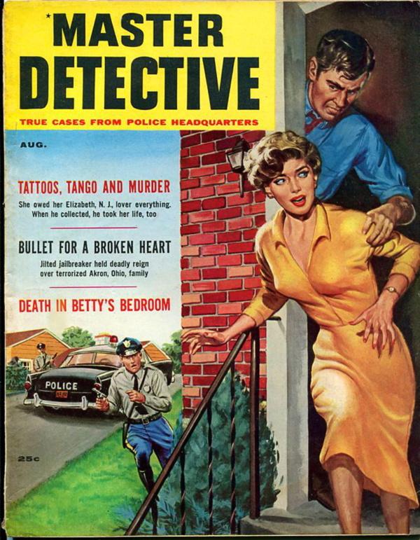Master Detective - 1958-08
