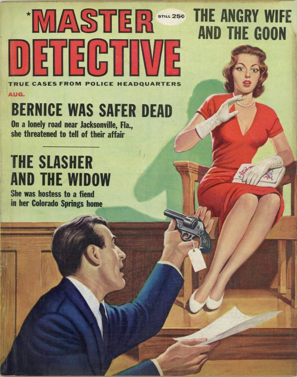 Master Detective August 1959