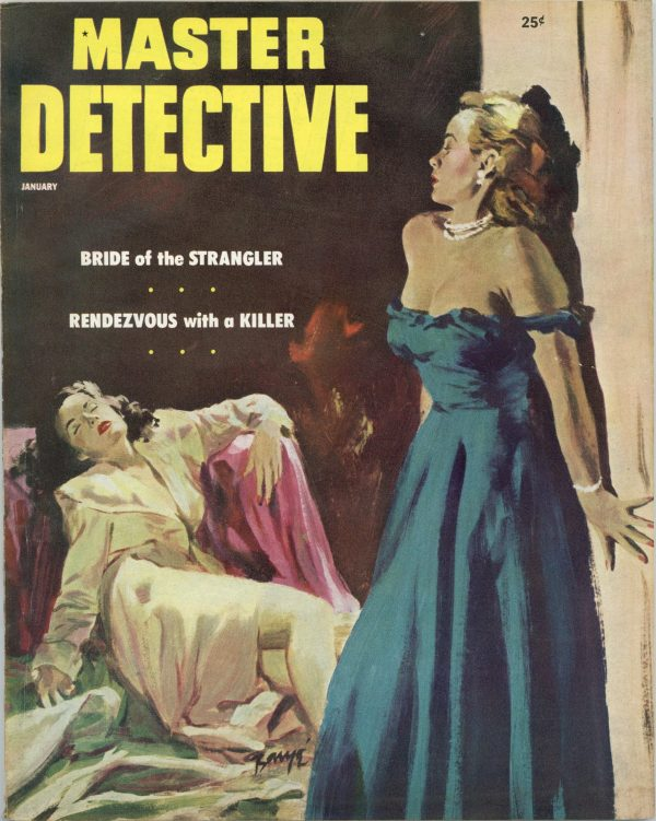 Master Detective True Crime Magazine January 1954