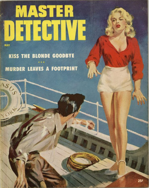 Master Detective True Crime Magazine May 1954