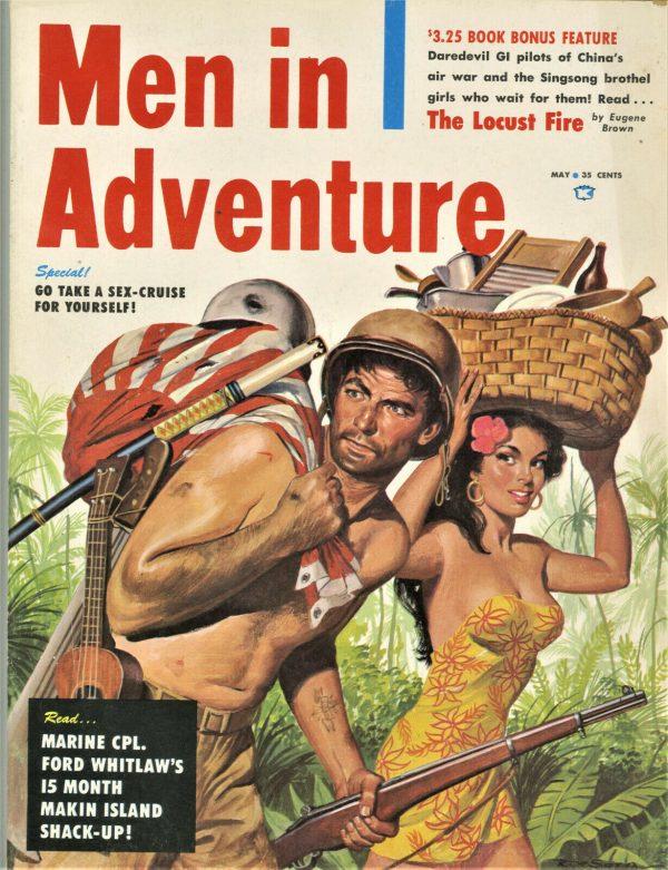 Men in Adventure Magazine May 1959