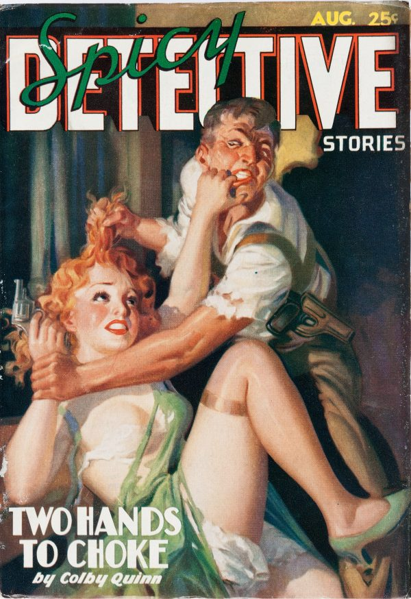 Spicy Detective Stories - August 1936