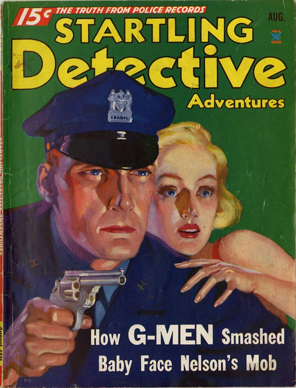 Startling Detective August, 1935