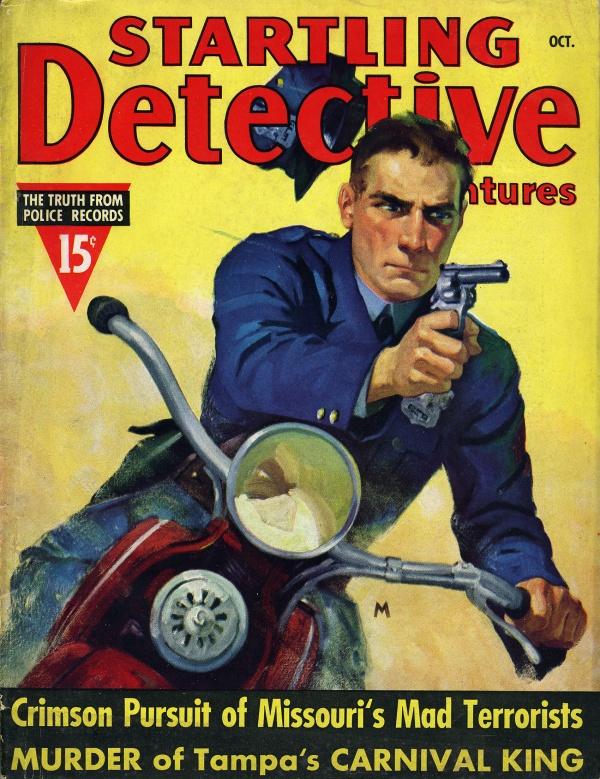 Startling Detective magazine October 1937