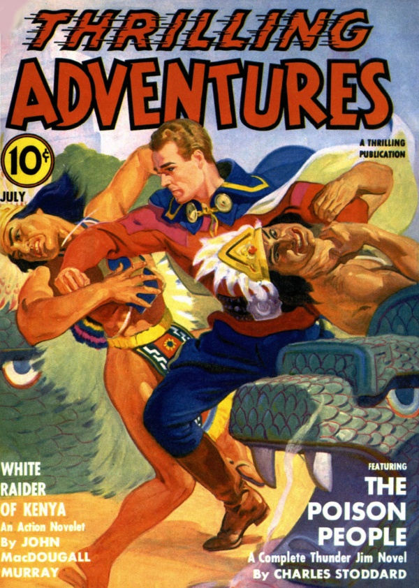 Thrilling Adventures - 1941-07