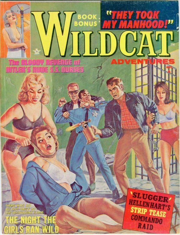 WILDCAT ADVENTURES October 1962