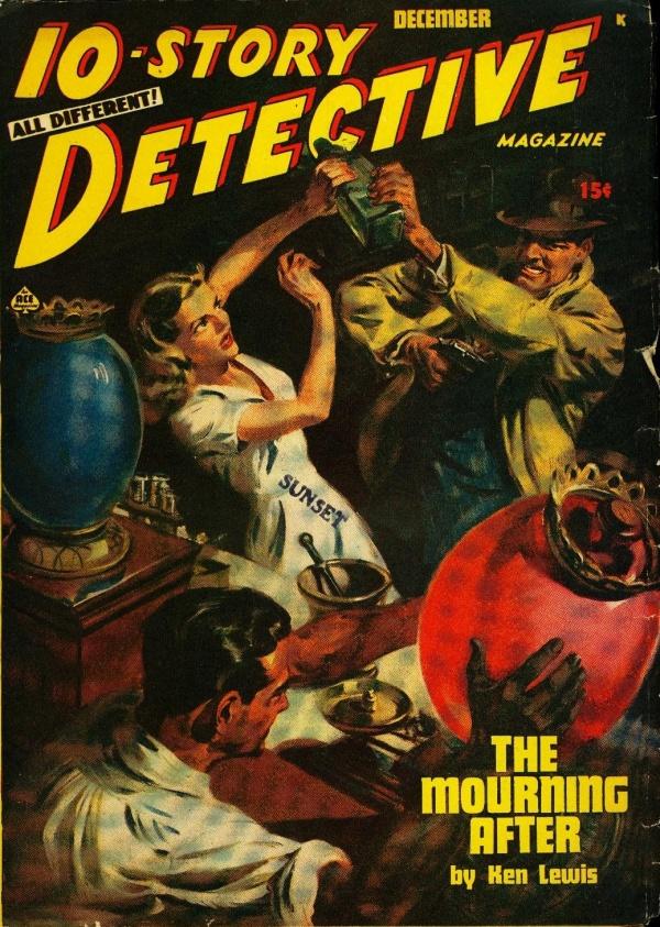 10-Story Detective December 1947