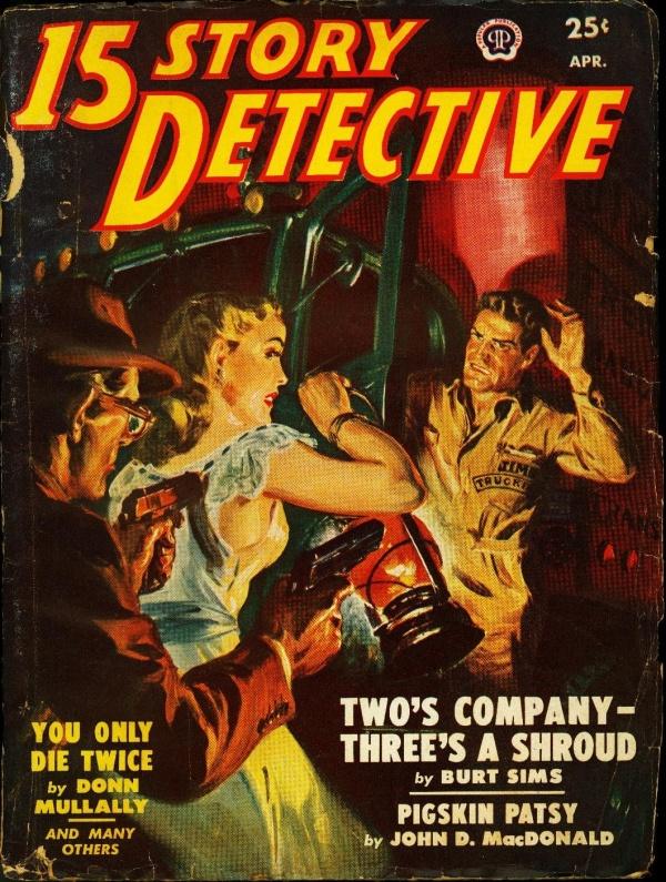 15 Story Detective, April 1950