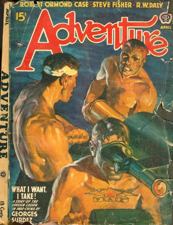 ADVENTURE - APRIL 1941