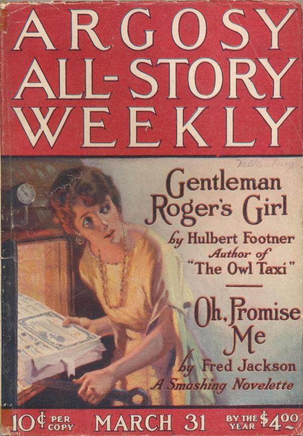ARGOSY ALL-STORY Weekly March, Mar. 31, 1923