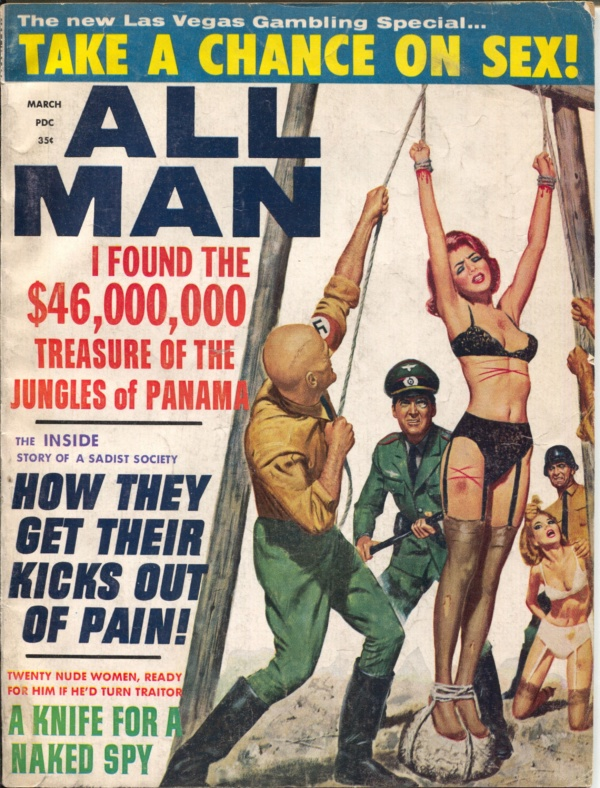 All Man Magazine March 1966