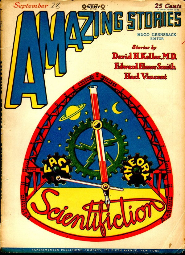 Amazing Stories September 1928