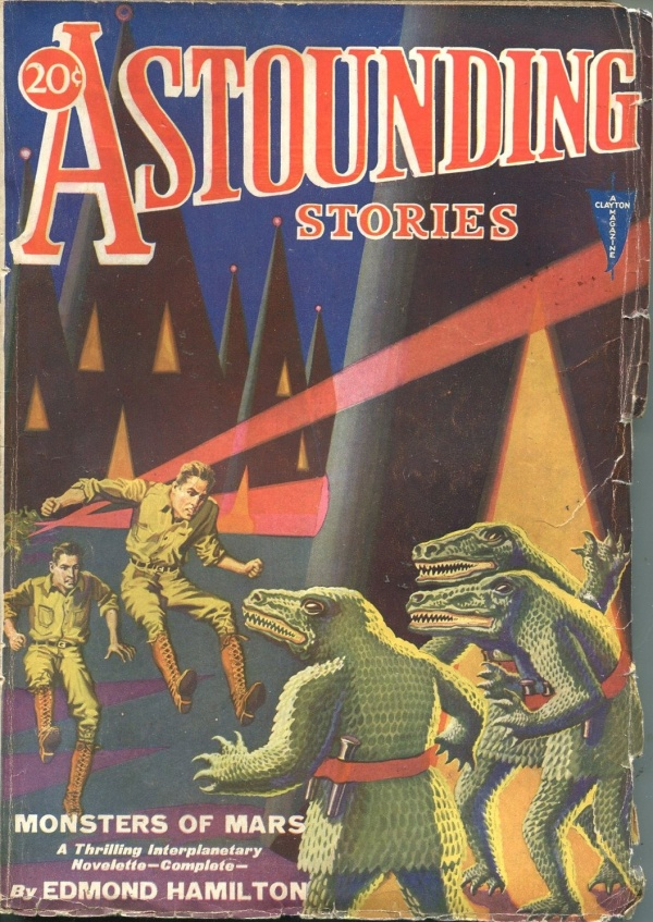Astounding Stories April 1931