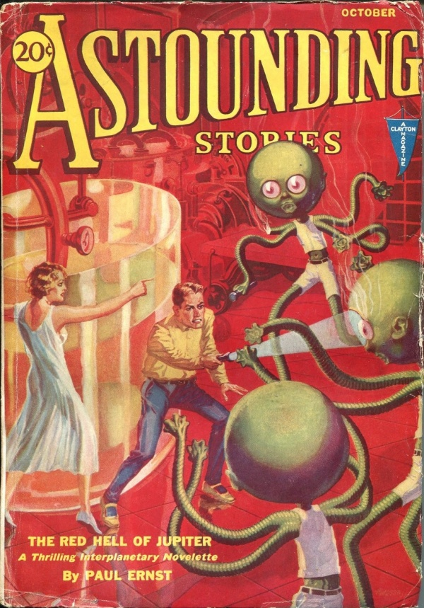 Astounding Stories October 1931