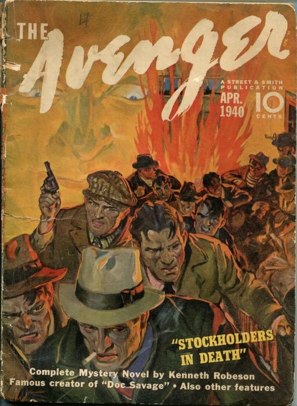 Avenger April 1940