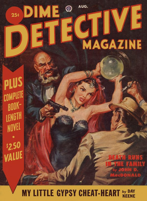 Dime Detective Aug 1951