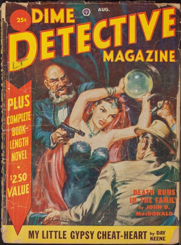 Dime Detective,  August 1951