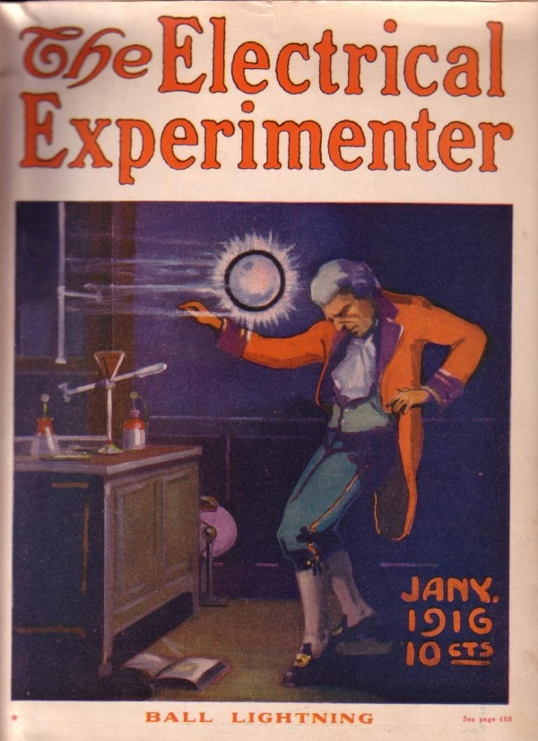Electrical Experimenter January 1916