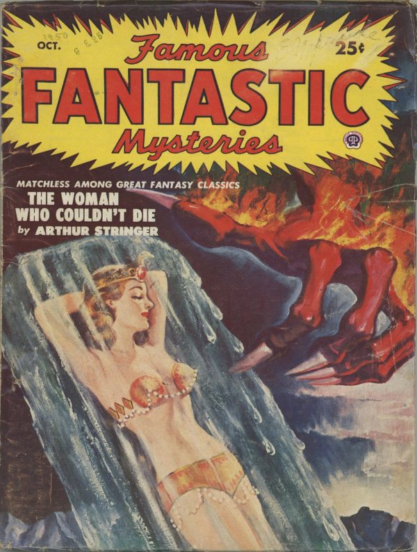 Famous Fantastic Mysteries Magazine October 1950
