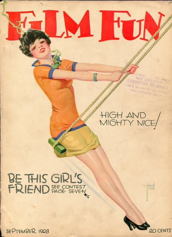 Film Fun September 1928