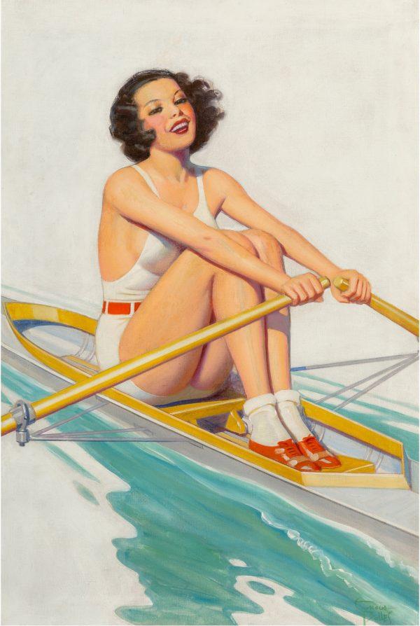 Film Fun magazine cover, July 1934