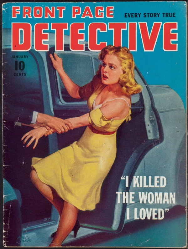 Front Page Detective January 1941