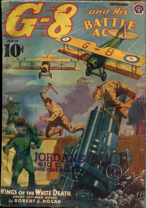 G-8 and His Batlle Aces September 1939