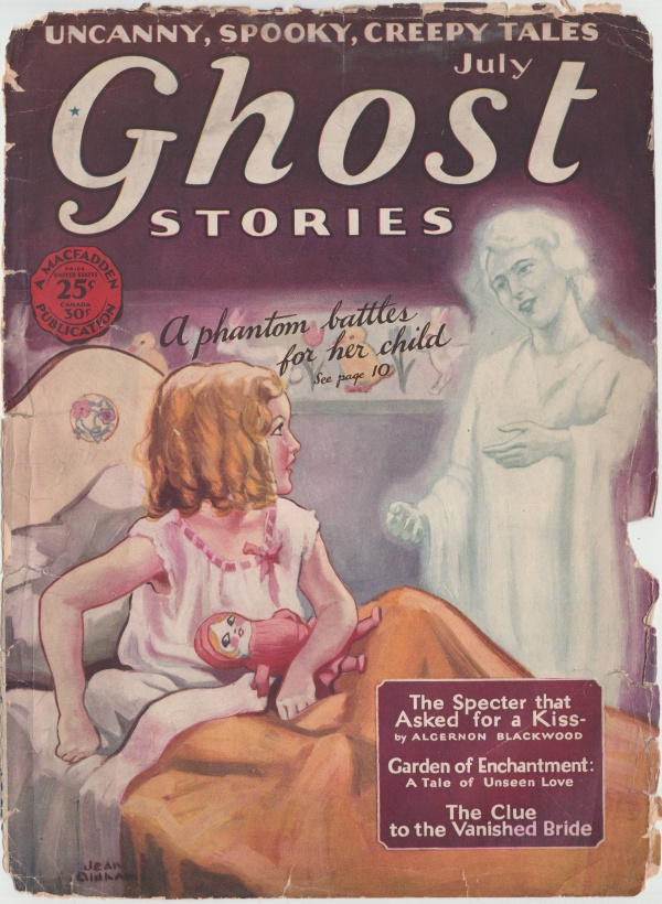 Ghost Stories July 1929