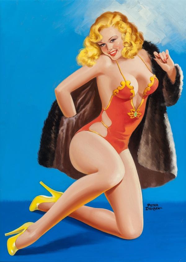 High-Heel Beauties, EYEFUL magazine cover, February 1947