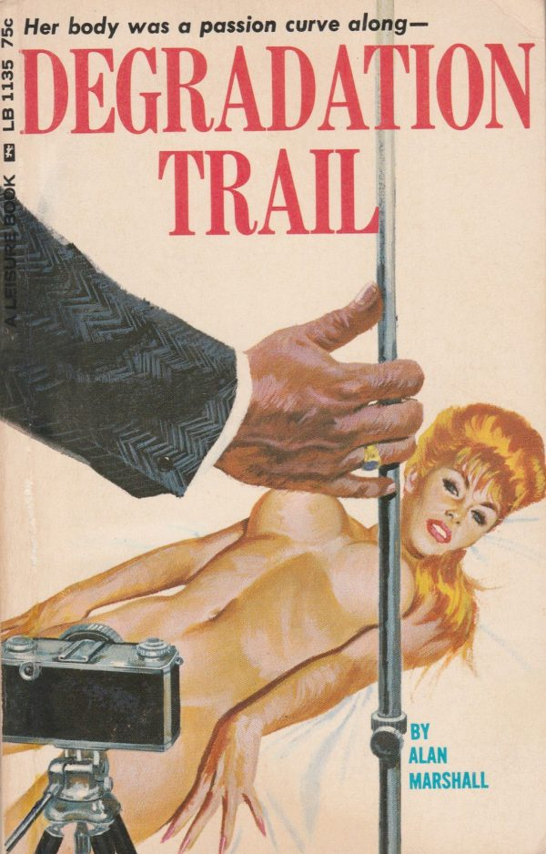 Leisure Books LB1135 - Degradation Trail (1966)