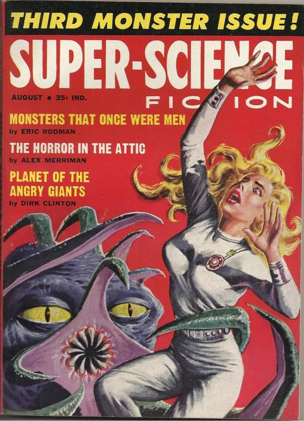 Super-Science Fiction, August 1959