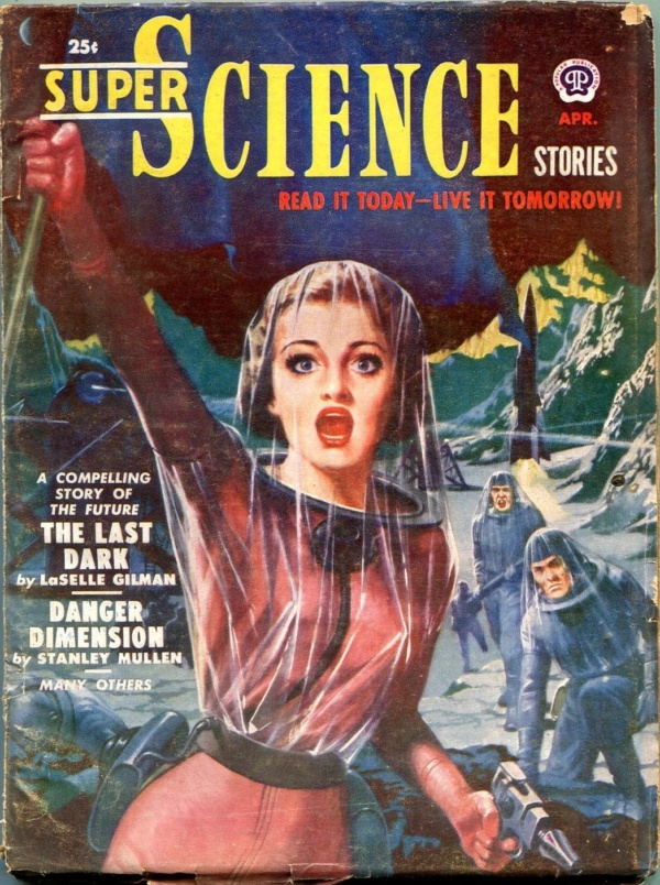Super Science Stories April 1951
