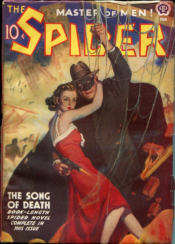 The Spider February 1939