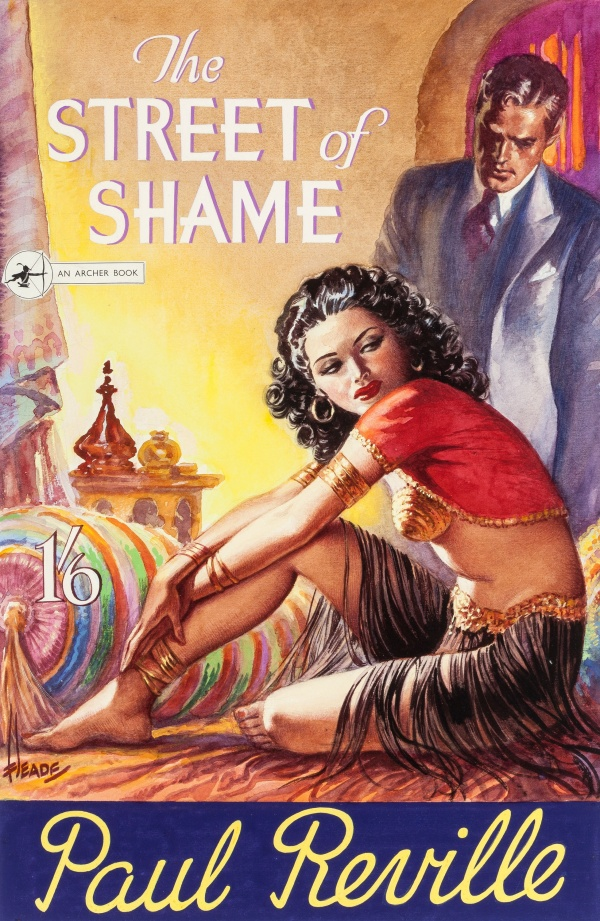 The Street of Shame by Paul Reville, Archer Books, 1953
