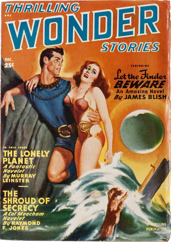 Thrilling Wonder Stories, December 1949