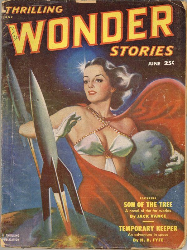 Thrilling Wonder Stories Magazine June 1951