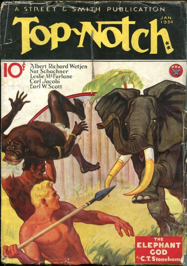 Top-Notch January 1934