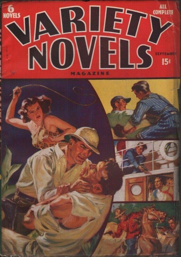 Variety Novels 1938 September
