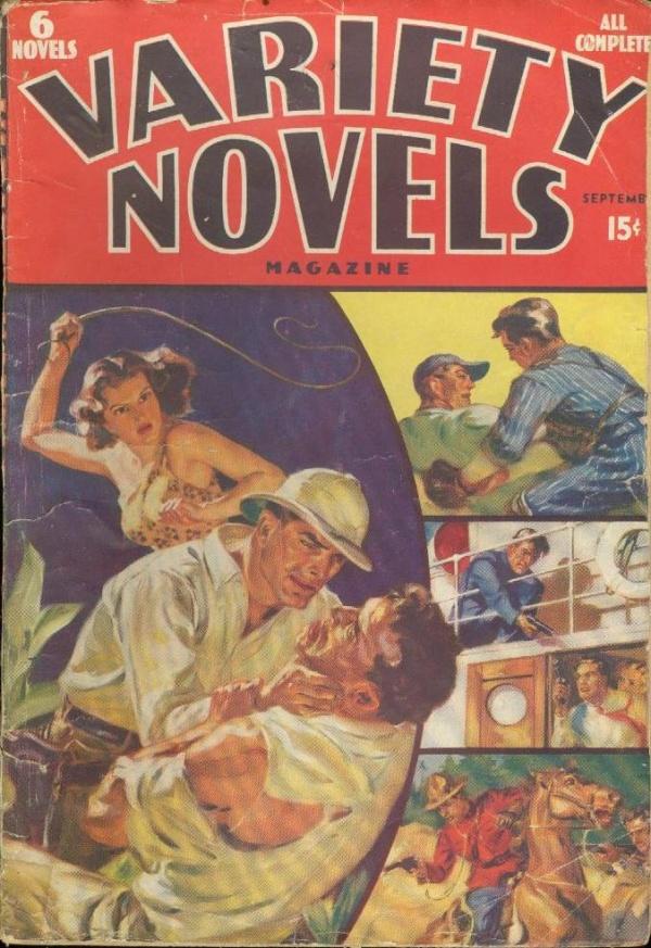 Variety Novels September 1938