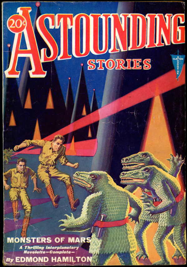 ASTOUNDING STORIES. April, 1931